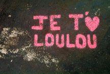 Love / Inscriptions de signes d'amour dans l'espace publics Graphismes-ecritures