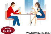 FlirtSmallTalk / Bauen Sie im Smalltalk-Gespräch Interesse, Aufmerksamkeit und Anziehung auf, so, dass es zu mehr kommen kann. Dieser Online-Kurs für Singles (Mann & Frau) lehrt richtig Flirten und bessere Kommunikation. Ideal auch für Pickup, Verführung, Flirt und Romanze. Jetzt um nur 1,- Euro testen! www.flirtsmalltalk.com