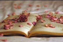 R o s e  &  B o o k / Book says to Rose, You give fragrance, i give knowledge