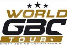 Logo World GBC Tour / Logotype Typographie Design World GBC Tour