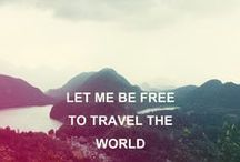Travel quotes / Inspirational quotes to make you travel