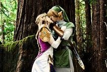 Zelda Wedding / This is going to become a thing, my dream wedding, no  limo  no tuxedos all Zelda/Hyrule theme wedding.