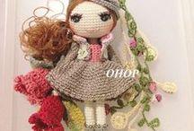 bonecas e bichinhos 2 / by rosa almeida