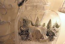 Noël / Xmas / Période privilégiée pour la décoration intérieure!
