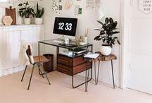 Organiser un coin bureau /atelier / Pour travailler dans un endroit agréable et fonctionnel.