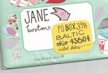 Mail art / Nice envelopes: mail art