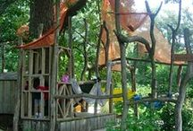 Family Gardens / Creative ideas for spaces for children to play in your garden.