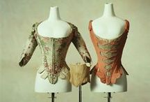 18th century stays and underpinnings
