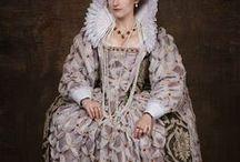 16th century Elizabethan Fashion