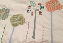 My quilting / hand made baby quilts