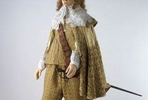 17th century Male fashions