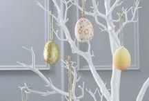 Pâques/ Easter / Des idées pour une jolie décoration de Pâques.