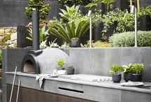 Outdoor Kitchens / Ideas for designs for outdoor kitchens.