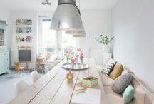Esprit scandinave / scandinavian interior design / Pour une décoration intérieure douce et intemporelle.