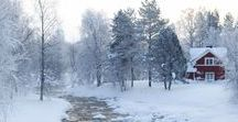 Hiver/Winter / J'apprécie la beauté de l'hiver dont la rigueur incite au cocooning.