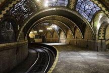 Comboios estações linhas de comboio fábricas