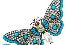 Joias - Borboletas e outros insectos