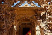 Templos e palácios orientais
