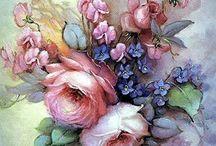 Flores-Pinturas