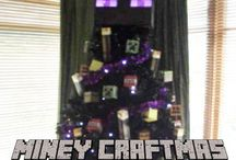 Minecraft Christmas Tree / Printables and references used to make the Minecraft Christmas tree in the board cover