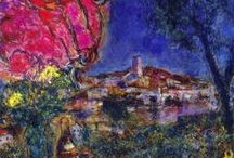 Pinturas -Marc Chagall