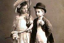 Crianças fotos antigas