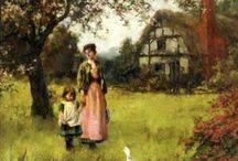 Pintura-Henry John Yeend King