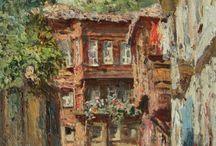 Casas pinturas