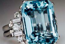 AA Agua Marinha, diamante azul, topázio etc.