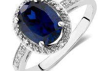AA Safiras e outras pedras azuis