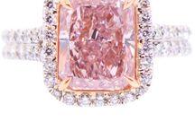 AA Safira, diamante rosa e outras