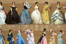 Vestidos desenhos e gravuras