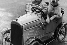 Crianças com animais fotos antigas