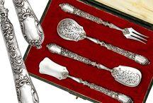 Pratas- Faqueiros e chavenas