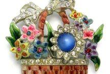 Jóias - flores ,cestas e jarras de flores