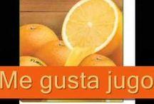 Food/La comida / Spanish vocabulary for food.