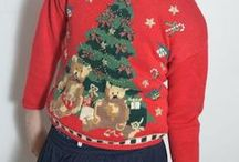 Ugly Christmas Sweater Party / Gone are the days where all Christmas parties were galas of people dressed in their finest…. today some Christmas party organizers choose to have 'Ugly Christmas Sweater' parties where people wear the wackiest, ugliest Christmas themed sweater they can find. Here are some examples we've found.