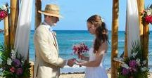 Wedding Inpsiration / Hair, beauty, and wedding detail inspiration for my beach wedding.