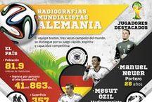 Radiografías mundialistas / #Brasil2014 ya está aquí, por ello te presentamos datos de las selecciones presentes en esta justa deportiva.