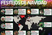 Fiestas Decembrinas / Con la llegada de diciembre llegan también las festividades navideñas, las posadas, las piñatas, el ponche, el árbol de navidad y el nacimiento.