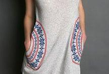 Stylish girl wardrobe / Inspiration. Fashion. T shirts. Colours. Style. Fashionista