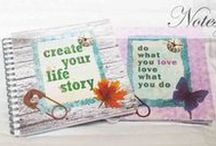 Notes and cards / Hand made, notes and cards made by scrapbooking