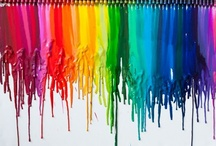Colour, Colour, Colour! / Colour can instantly change your mood! Make you smile! So add a bit of colour in your life!