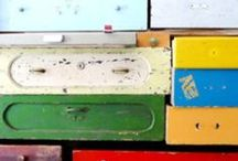 drawers and boxes / by Julia Triston