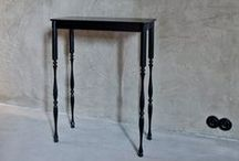 The Side Table / The Side Table is raw but elegant. She stands high on her legs and can be perky someway.