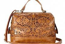 Handbags / Inspiration to handsew a leather handbag