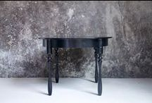 The T-Table / Small round low table