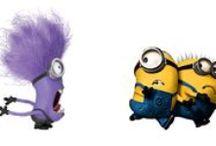 Minion's Actions / Small, banana yellow thingies.