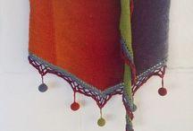 Вязание. Шаль