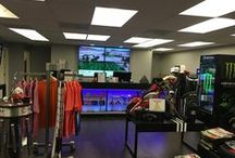 The Club House / Check out our Club House including our staff, the Pro Shop, Slice 19, the outside bar and more.